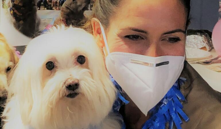 Terapia cu câini poate ajuta copiii cu tulburări cognitive