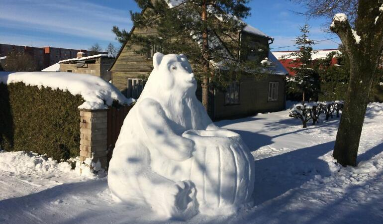 Lituania: personaje din desene animate și viruși de… zăpadă