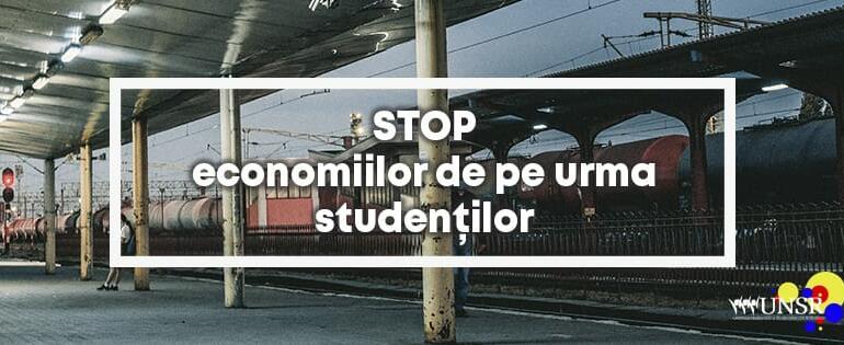 Studenții se revoltă. Rămân fără călătorii gratuite