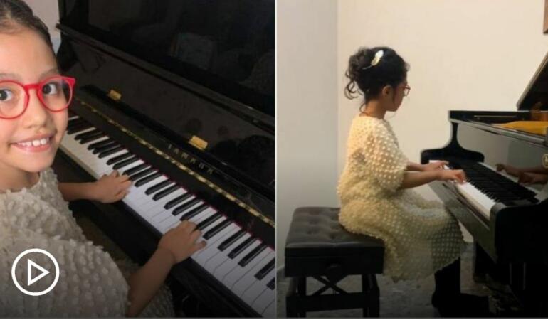 Micuța pianistă columbiană care a cucerit Europa și întreaga lume