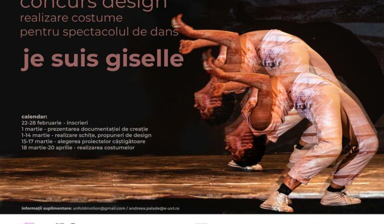 """""""Je suis Gisselle"""" în Timişoara: Se caută tineri designeri și arhitecți"""