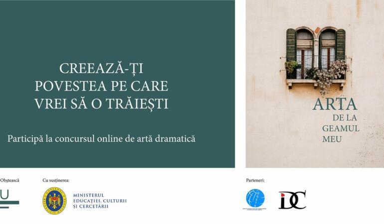 """""""Arta de la geamul meu"""" – concurs online pentru elevii din Chișinău"""