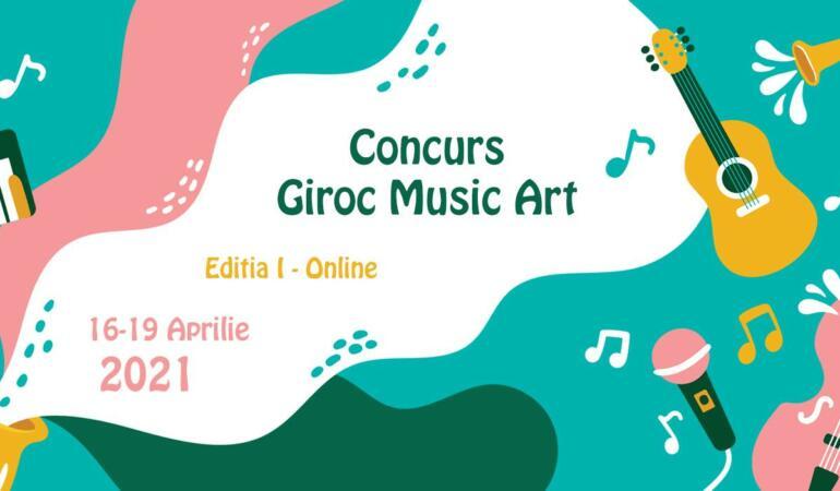 Giroc Music Art – concurs online pentru copii și tineri