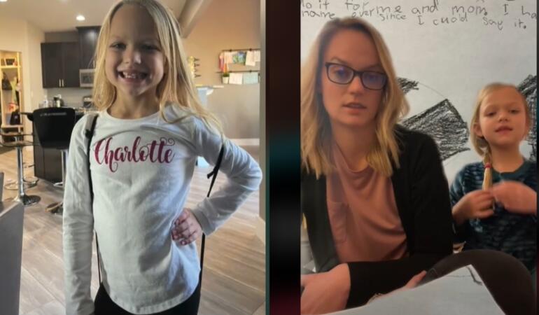 O fetiță a vândut brățări ale prieteniei pentru a-și schimba numele