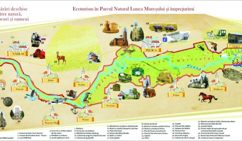 Locuri de poveste din România: Parcul Natural Lunca Mureșului
