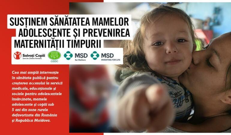 Proiect dedicat adolescentelor însărcinate și tinerelor mame
