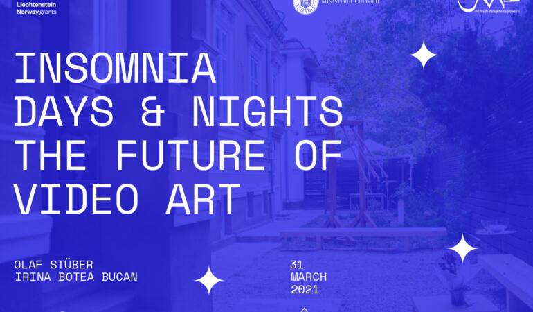 Insomnia – evenimentul online despre modul în care privim arta video