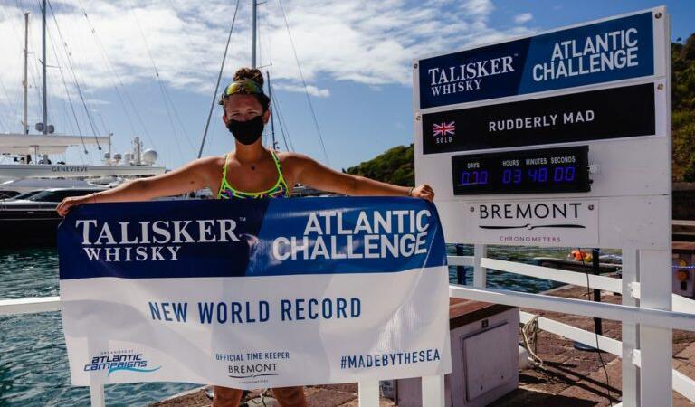 Record mondial: Cea mai tânără persoană care a trecut Atlanticul vâslind