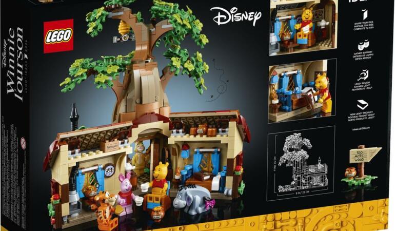 LEGO readuce la viață poveștile cu Winnie the Pooh