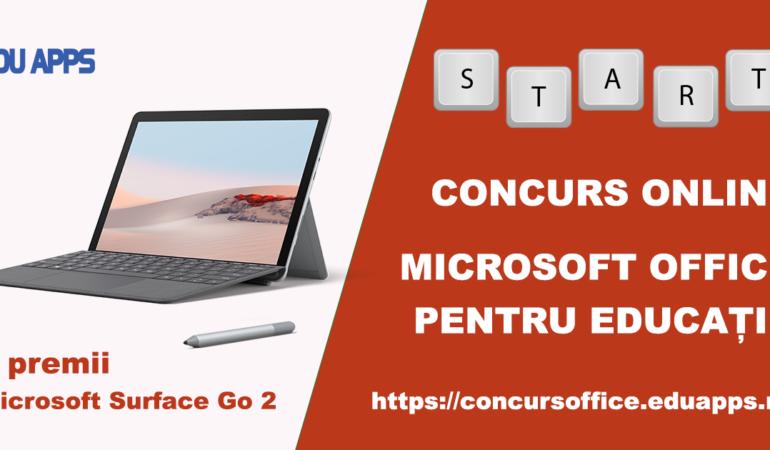 """""""Microsoft Office 365 pentru Educație"""", un concurs online dedicat cadrelor didactice"""
