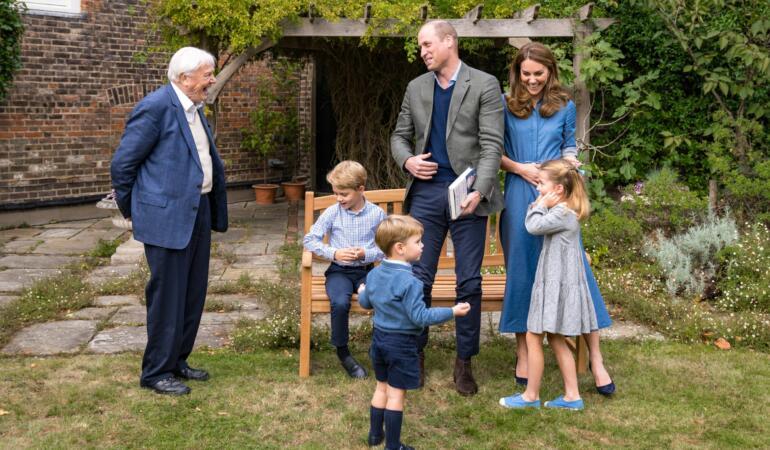 O familie normală. Copiii prințului William sunt încurajați să se murdărească