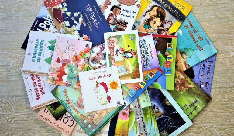 Donație de 1000 de cărți pentru bibliotecile publice cu ocazia Zilei Cărții