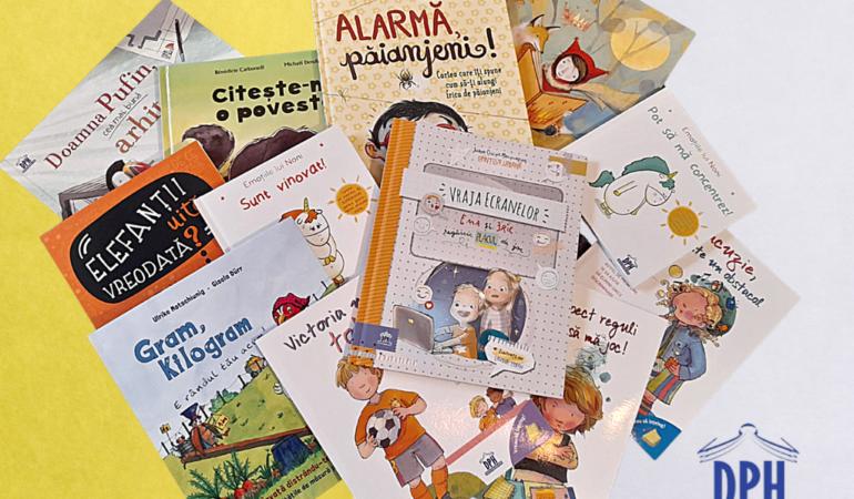 Noi titluri la Editura Didactica Publishing House. Aflați ce pot citi copiii