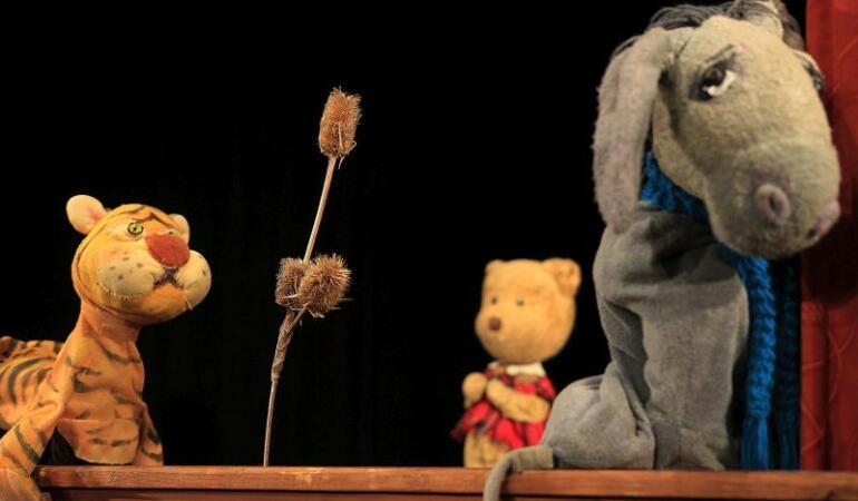 """Winnie the Pooh și Spiridușul voinic la Teatrul de Păpuși """"Puck"""""""