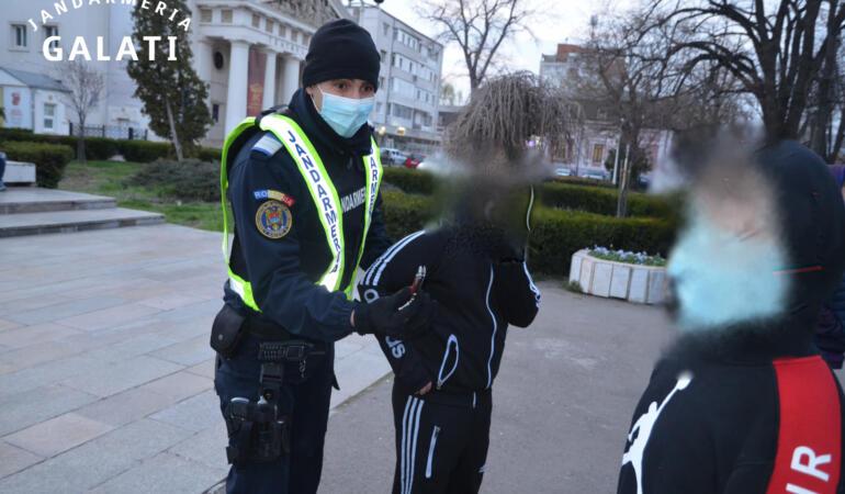 Povestea emoționantă a unui băiat de 13 ani care a protestat la Galați. Relatează Jandarmeria Română