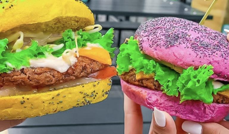 Burgeri vegani și veseli
