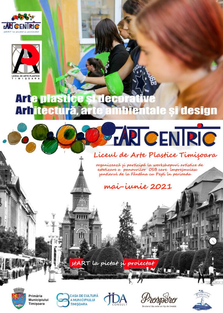 ArtCentric, un proiect derulat de Liceul de Arte Plastice din Timișoara