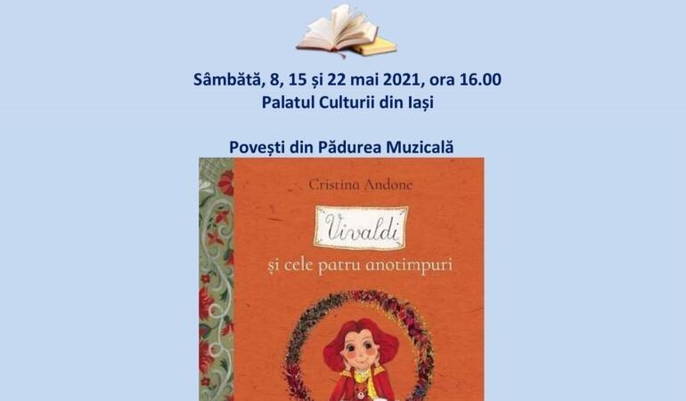 Ateliere de lectură pentru copii la Palatul Culturii din Iași