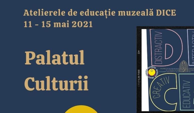 Ateliere pentru copii la Palatul Culturii din Iași