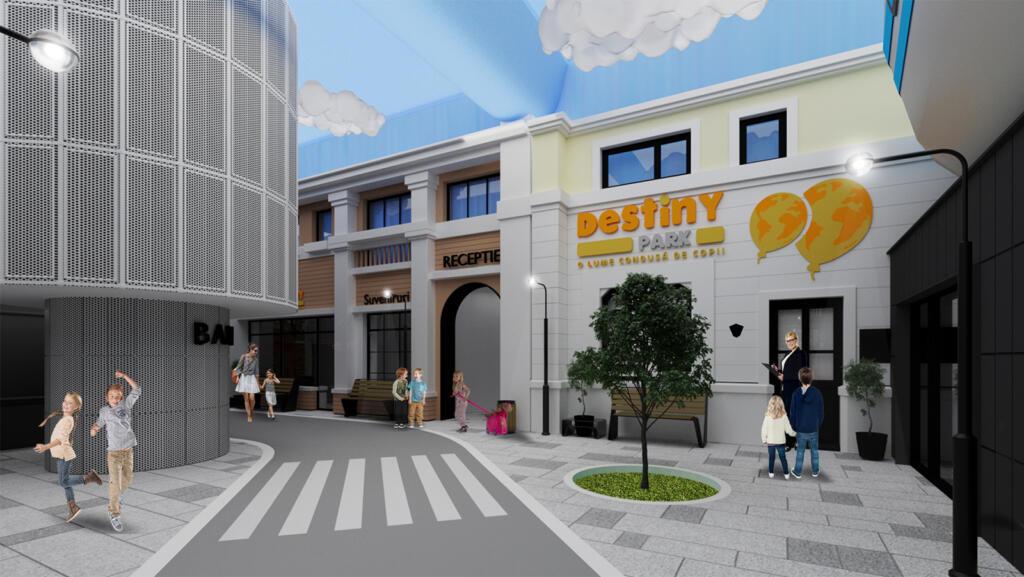 Destiny Park, un loc în care copiii vor putea descoperi ce meserie li s-ar potrivi