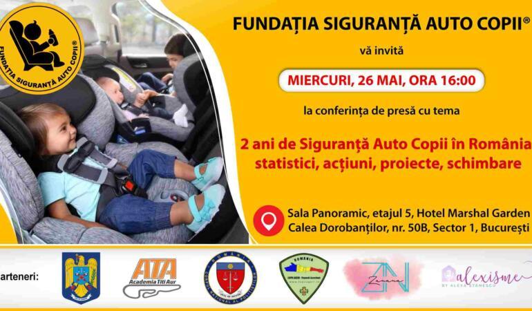 Cum ne protejăm copilul în trafic. Romania, țara cu cele mai multe accidente