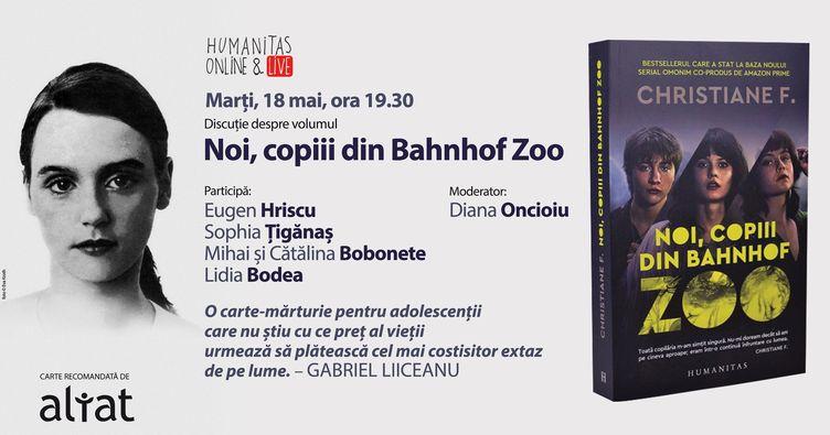 """""""Noi, copiii din Bahnhof Zoo"""", o carte despre dependența de droguri"""