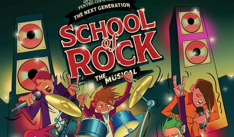 School of Rock, o premieră națională la Opera Comică pentru Copii