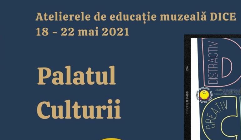 Serie nouă de ateliere pentru copii la Palatul Culturii din Iași