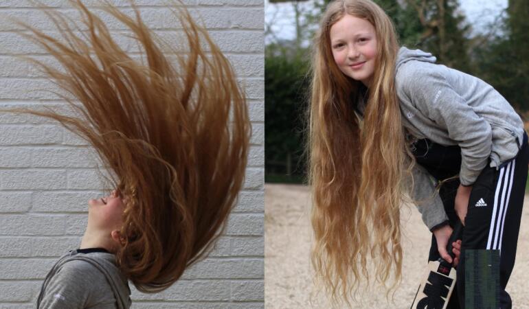 Un băiat de 12 ani nu s-a tuns timp de opt ani. Acum o va face pentru a dona părul