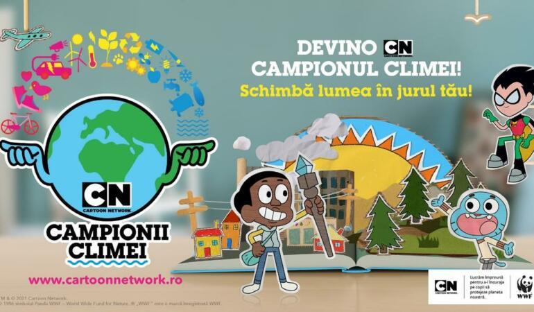 """Campionii climei"", o campanie Cartoon Network"