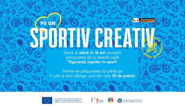 """""""Siguranța copiilor în sport"""", un concurs de desen pentru copii"""