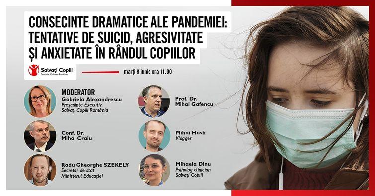 Consecințele dramatice ale pandemiei în rândul copiilor