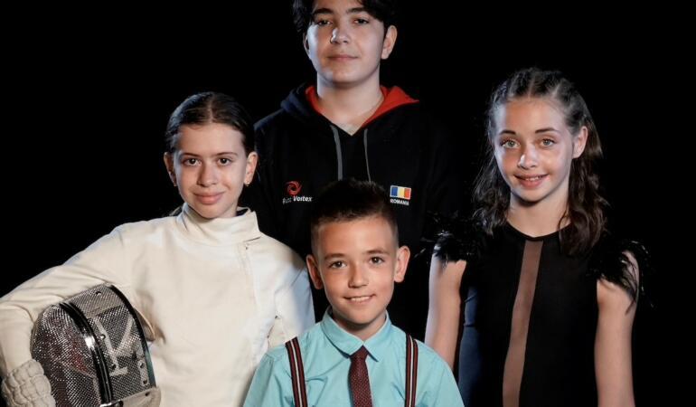 Cine sunt cei patru copii norocoși care vor păși pe gazonul UEFA EURO 2020 în România