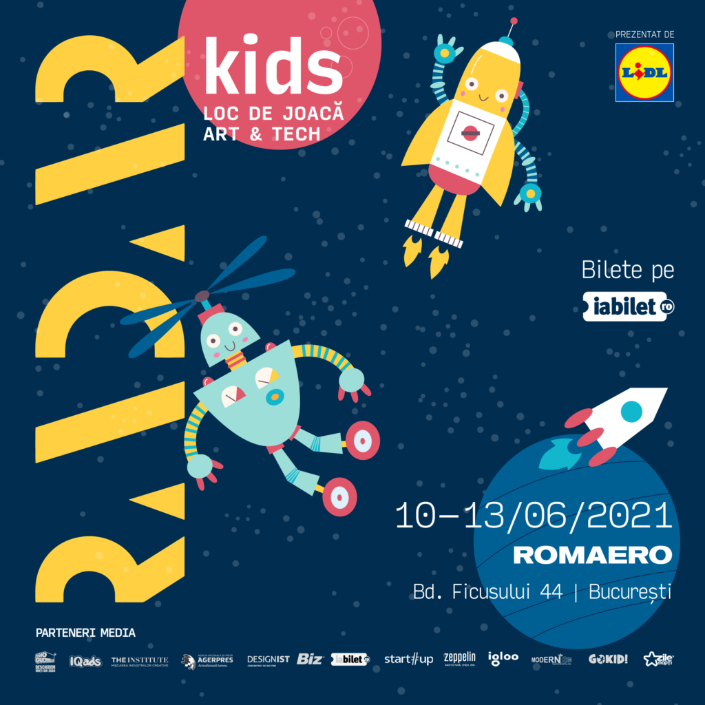 """""""RADAR Kids"""", loc de joacă art & tech creat special pentru copii"""