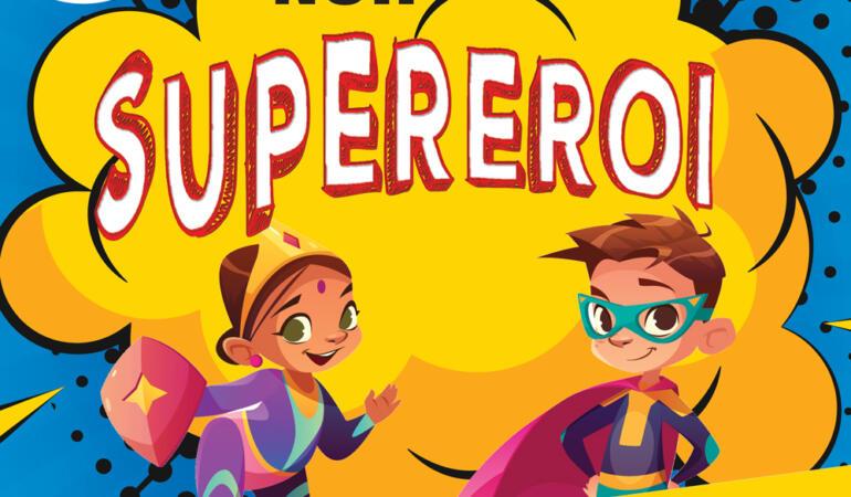 Copiii inspiră cartea Noilor Supereroi