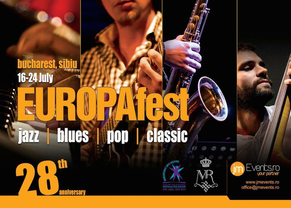 Festivalul EUROPAfest 28 prezintă concerte cu artiști