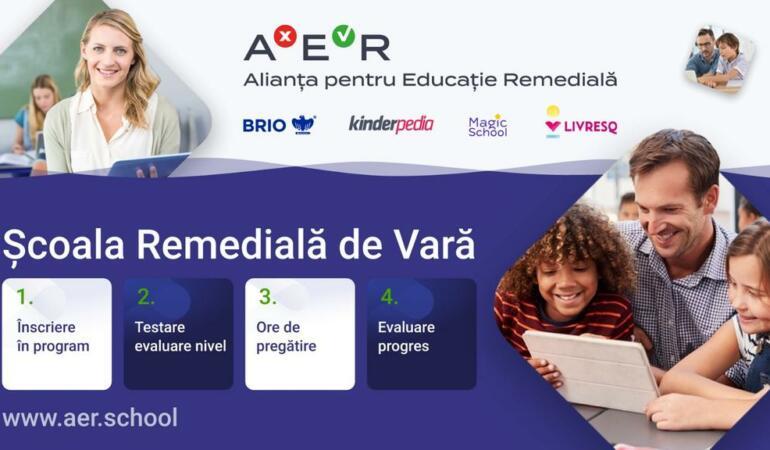Școala de Vară – un program gratuit pentru elevii din clasele V – VIII