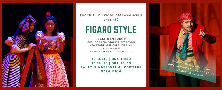 """""""Figaro Style"""", la Palatul Național al Copiilor"""
