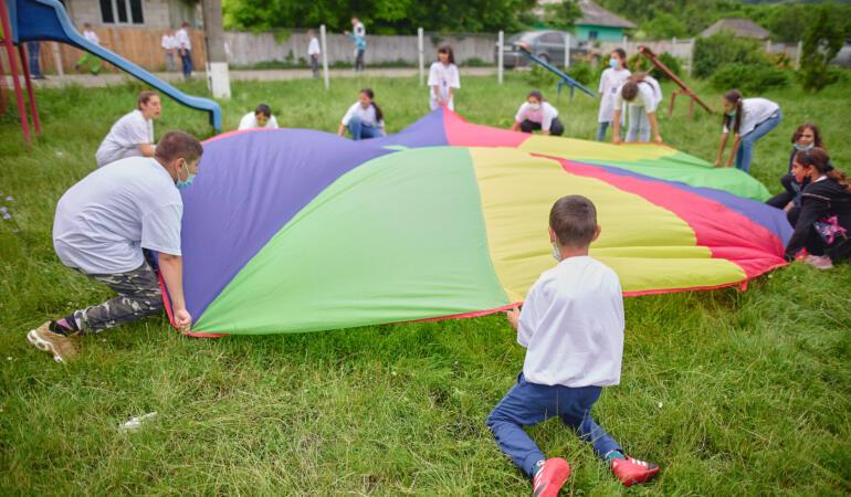Școala de Vară. Inițiativa dedicată copiilor din mediul rural
