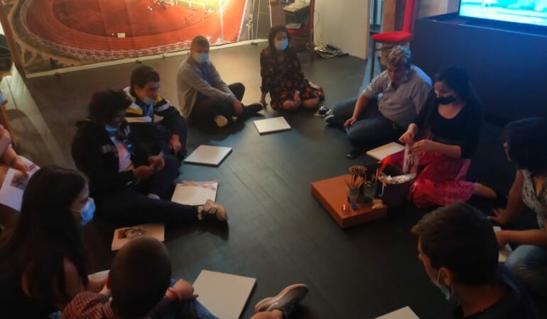 Ce au învățat copiii cu dizabilități după vizita la Muzeul Național al Banatului