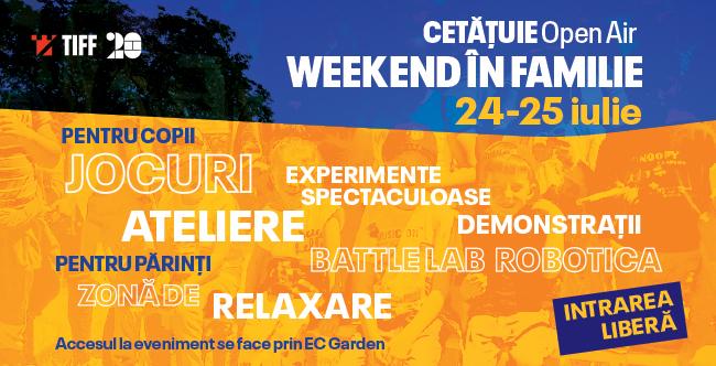 Weekend întreg de distracție pentru copii și părinți, la Cluj