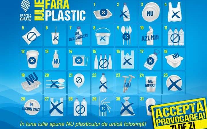Provocarea: iulie fără plastic. Voi faceți economie?