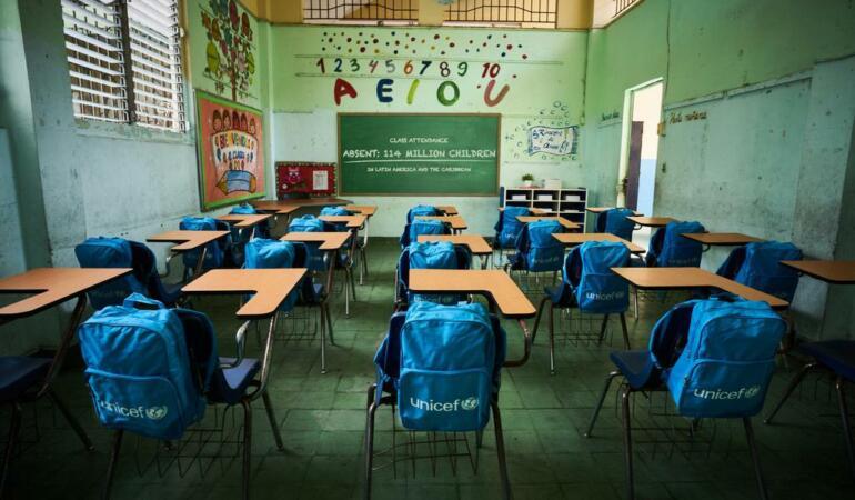 140 de milioane de elevi nu au avut încă prima zi de școală. UNICEF trage un semnal de alarmă