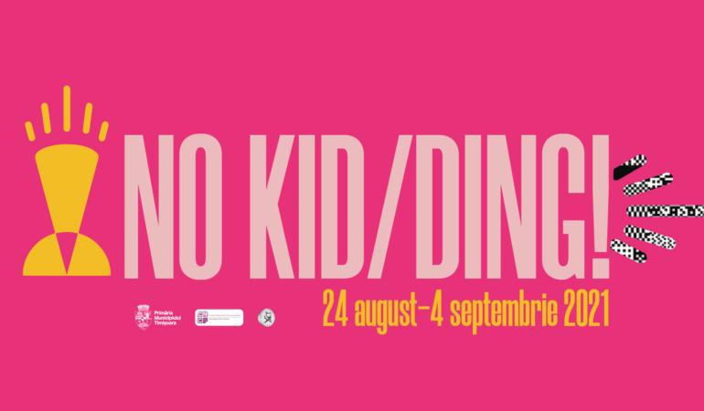 NO KID/DING! Concursul inedit pentru tinerii artiști pasionați de film