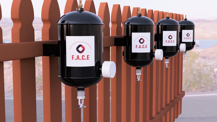 Un puști din Statele Unite a inventat primul stingător automat de incendii