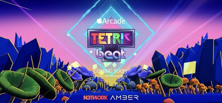 Un nou joc Tetris. Poți asculta muzică în timp ce te joci
