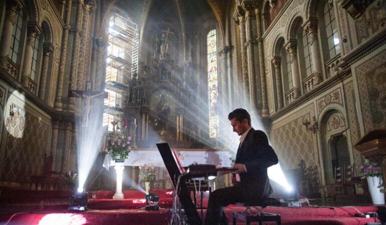 Concert de basm în Biserica Millenium din Timișoara