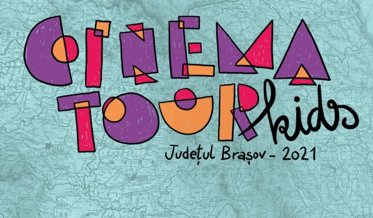 Cinema Tour Kids. Caravana națională de film dedicată copiilor brașoveni