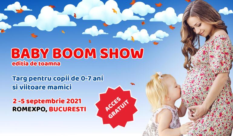 Baby Boom Show revine. Azi începe cel mai mare târg pentru copii și viitoare mămici