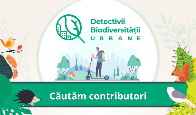 """Cum puteți deveni """"Detectivii biodiversității urbane"""" la Timișoara. Se face harta florei și faunei orașului"""